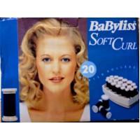 Babyliss Soft Curl lämmitettävät rullat 20 kpl