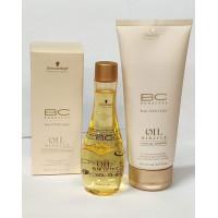 BonaCure Oil Miracle Light Finishing Treatment - Silottava hoitoöljy normaaleille ja hennoille hiuksille 100ml