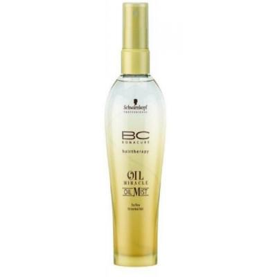 BonaCure Oil Miracle Oil Mist for fine to normal hair  100 ml - silikoniton kuivaöljysuihke hennoille hiuksille
