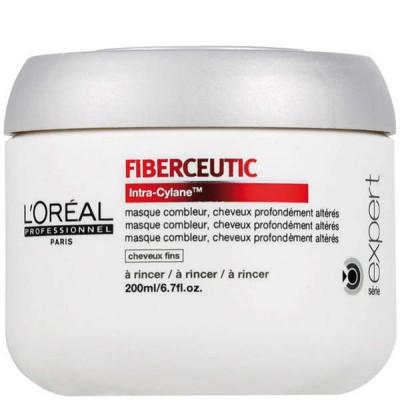 L'oréal Professionnel Serie Expert FIBERCEUTIC Intra-Cylane 200ml hoitonaamio ohuille hiuksille