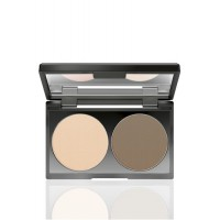 MAKE UP FACTORY Duo Contouring Powder - Varjostuspuuteri duo 07 Light Coffee