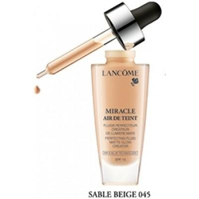 Lancôme Miracle Air de Teint -meikkivoide. SK 15. 045 Sable Beige