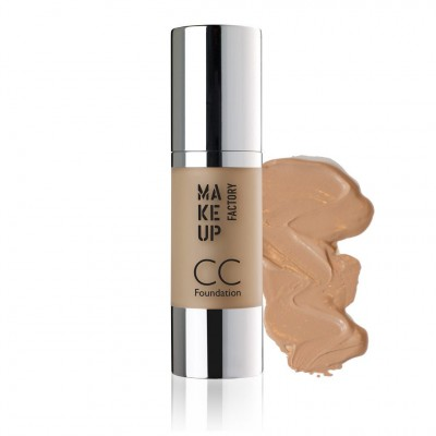 MAKE UP FACTORY CC Foundation - meikkivoide 15 Natural