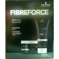 BonaCure Fibreforce Shampoo 200 ml ja Tehohoito 150 ml