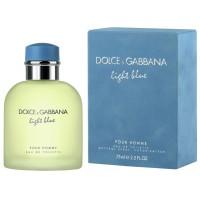 DOLCE & GABBANA LIGHT BLUE POUR HOMME EdT 75 ml
