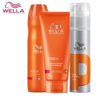 Wella Professional Care Enrich lahjapakkaus kuiville ja kosteutta vaativille hiuksille