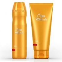 Wella Professional Care SUN Shampoo 250 ml ja hoitoaine 200 ml