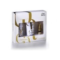 Wella Care Oil Reflections shampoo 250 ml ja hoitoaine 200 ml sekä hoitoöljy 30 ml